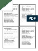 Temario Español y Matematicas
