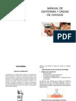 Manual de Diatermia y Ondas de choque