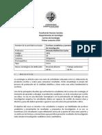 Programa Escritura Academica y Presentacion de Resultados de Investigacion Prof. Amanda Rutlland 1-2018