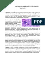 Histología como herramienta de diagnostico en la Medicina Veterinaria