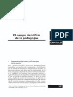 1.1. El Campo Científico de La Pedagogía_ Florez Ochoa