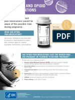 cdc pregnancy opioid pain factsheet