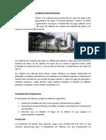 Aislamiento de Calderas Industriales