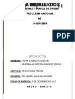 Universidad Técnica de Oruro Fisica 2