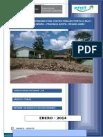 Diagnóstico Socioeconomico Del Centro Poblado Portillo Bajo