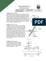 Práctica Calificada de Mecánica de Fluidos 2018  N 04 Cantidad de Movimiento y Diseño de Tuberias