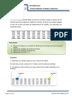 EJEMPLOS PASO a PASO Tendencia Central y Dispersion Clase 1
