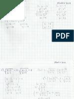 Operaciones en algebra