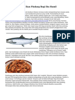 Manfaat Memakan Ikan Pindang Bagi Ibu Hamil