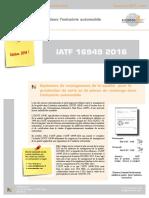 IATF 16949-2016 Deutsch