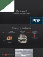 Capítulo II- La Significación