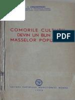 1952 CHISINEVSCHI Comorile Culturii