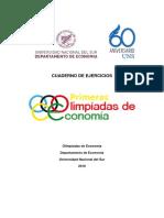 UNS - Olimpiadas Economia 2016