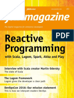 Reactive Programming With Scaal, Lagom, Spark, Akka, Play