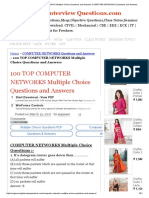 100 TOP COMPUTER NETWORKS Multiple Choice Questions and Answers COMPUTER NETWORKS Questions and Answers