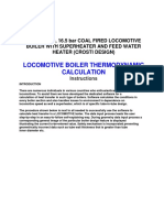 0 Boiler Locomotive
