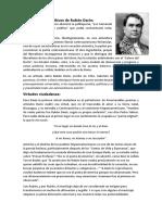 Pensamientos Políticos de Rubén Darío y Virtudes Ciudadanas