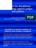 19. Grounds for disciplinary proceedings against judges and justices.ppt