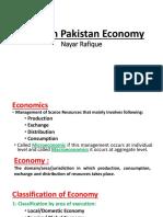 Issues in Pakistan Economy