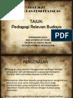Pedagogi Relevan Budaya