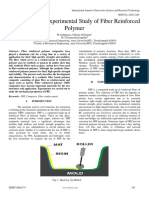 Simulation and Experimental Study Offiber Reinforced Polymer