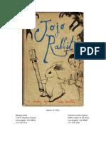 JOJO RABBIT (3.15.12) by Taika Waititi