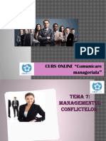 Comunicare Manageriala.tema 7