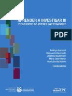 Aprender a Investigar III