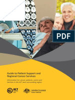Guide to Patient Support and Regional Cancer Services