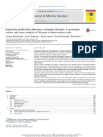 Improving Medication Adherence in Bipolar Disorder- A Systematic Review and Meta-Analysis of 30 Years of Intervention Trials