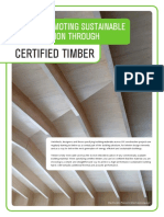 PEFC - Promoting Sustainable Construction Through Certified Timber