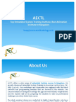 AECTL Embedded System Training Institute Bangalore