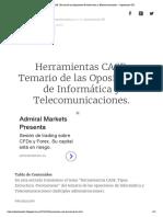Herramientas CASE. Temario de Las Oposiciones de Informática y Telecomunicaciones