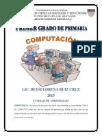 Primer Grado de Primaria I Unidad Deysi Ruiz