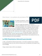 Plomberie PER Ou PPR _ Le Guide Belmard