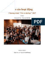 NYDO Vietnam Report - TOVADAHO Program July 2017