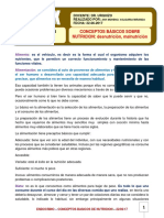 42. ENDOCRINO. Conceptos Basicos Sobre Nutricion. 22.06.17