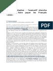 Taxe d'Habitation _ l'Exécutif Cherche Comment Faire Payer Les Français «Aisés»