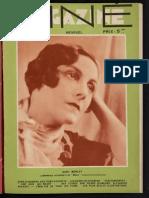 Cinèmazine Novembre 1932