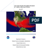 National Hurricane Center Product Description Document