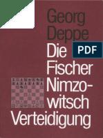 Deppe Georg - Die Fischer-Nimzowitsch Verteidigung, 1979-NoOCR, 82p
