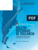 Boletin Integrado de Vigilancia 2016