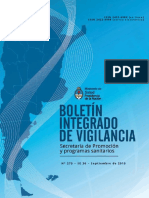 Boletin Integrado de Vigilancia 2015