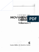 Pla - Historia Del Movimiento Obrero - De Los Orígenes a Las Revoluciones de 1848