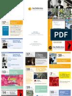 Aula de Cultura de Murcia. Programación de Abril y Mayo de 2018