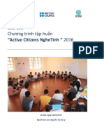 NYDO Vietnam Report - Active Citizens Nghetinh 2016