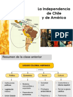 Independencia de Chile y América