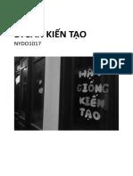 NYDO Vietnam Document - Sharing Experience #1 - October 2017