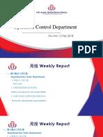 OCC Weekly Report 15 Jan