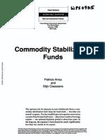 Commodity Fund Stabilization